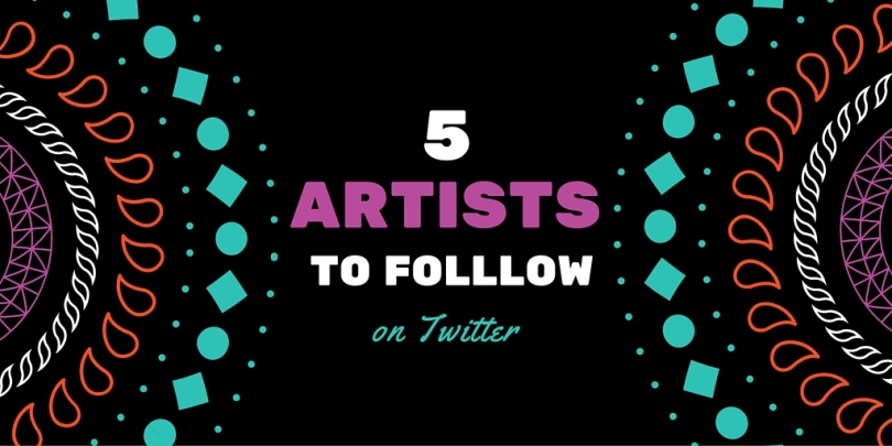 5 Artists on Twitter