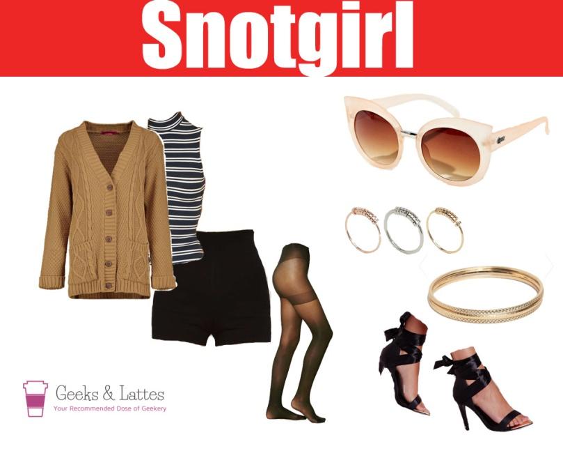 everyday cosplay snotgirl